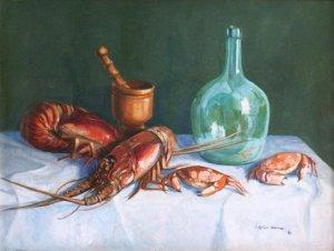 Tomas Lopez Ramos, pintor dominicano de origen español